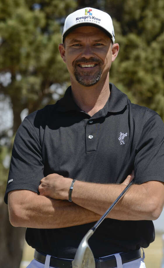 Cliff Kresge is playing in the WNB Golf Classic and also helping raise awareness of autism. Tim Fischer\Reporter-Telegram Photo: Tim Fischer