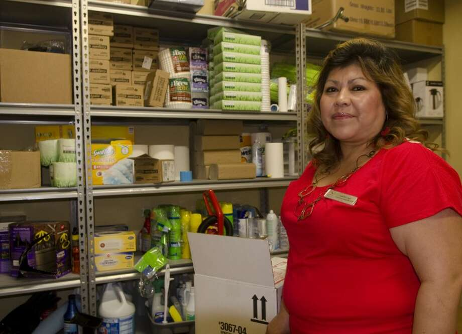Marlene Martinez is head of housekeeping for Sleep Inn & Suites. Photo by Tim Fischer/Midland Reporter-Telegram Photo: Tim Fischer