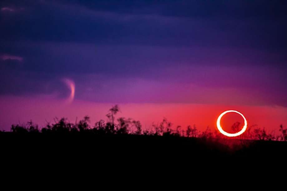The annular eclipse was viewed from in Midland County near High Sky Children's Ranch. Photo: Courtesy Carol Ramirez/Imagine That Photography