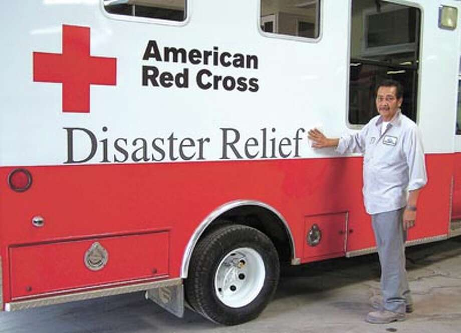 Allstar made this and other Red Cross emergency response vehicles look like brand new--and they can do the same for your vehicle. Call them at 683-2761.