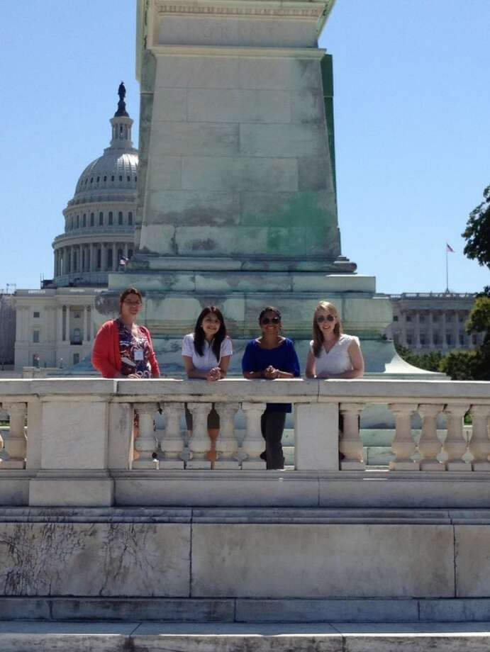 A group from Texas recently went to Washington to talk with Congress members and staff about irritable bowel disease. Photo: Courtesy Photo