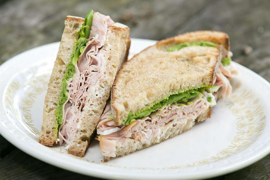 Ham and cheese sandwich from Contimo Provisions in Napa. Photo: Jen Fedrizzi, Special To The Chronicle