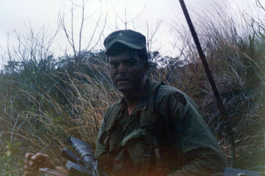 Midlander, Wallace Craig, in south Vietnam in late 1971.