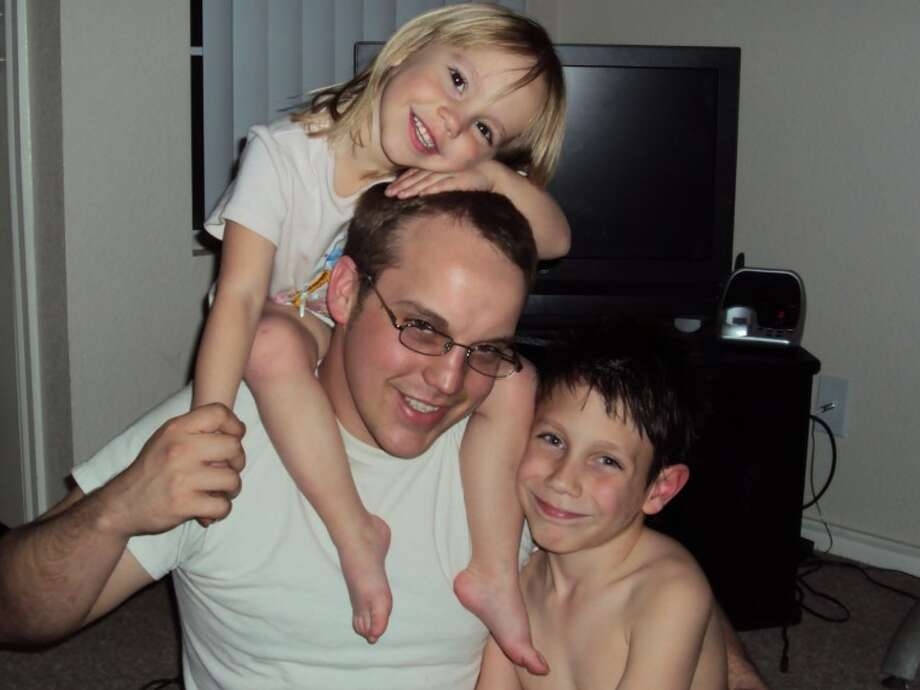I would like to say a very special happy Father's Day to my wonderful husband Brad White!  He works 13-hour days and still finds time to come home and play with our four children, clean house, and help with dinner sometimes. Thank you for being a great dad! We love you!— Tiffany White and the kids, Rachael White, Billy Campbell, and 1-year-old twins, Amber and Christopher White.