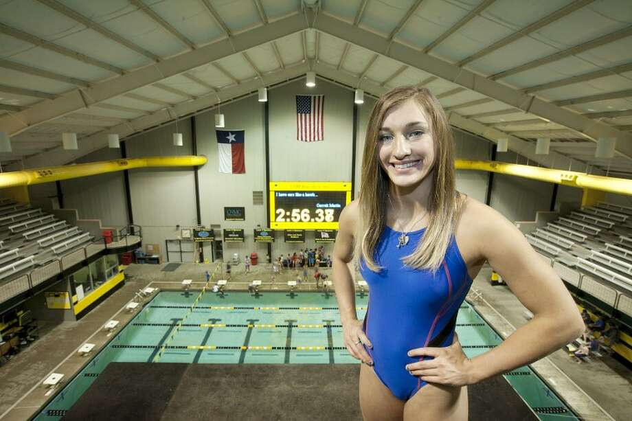 Anna James is seen here at the City of Midland Aquatics Center in this file photo.Reporter-Telegram Photo: Cindeka Nealy