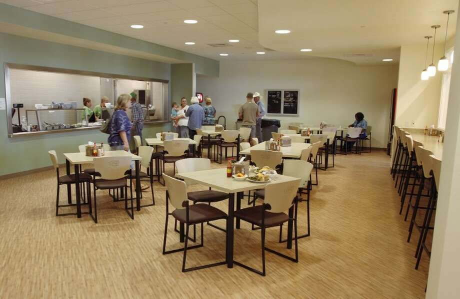 Martin County Hospital's cafeteria provides employees and the public another place to eat in Stanton. The 48-seat cafeteria is open for breakfast and lunch. Photo: Chaney Mitchell/Reporter-Telegram