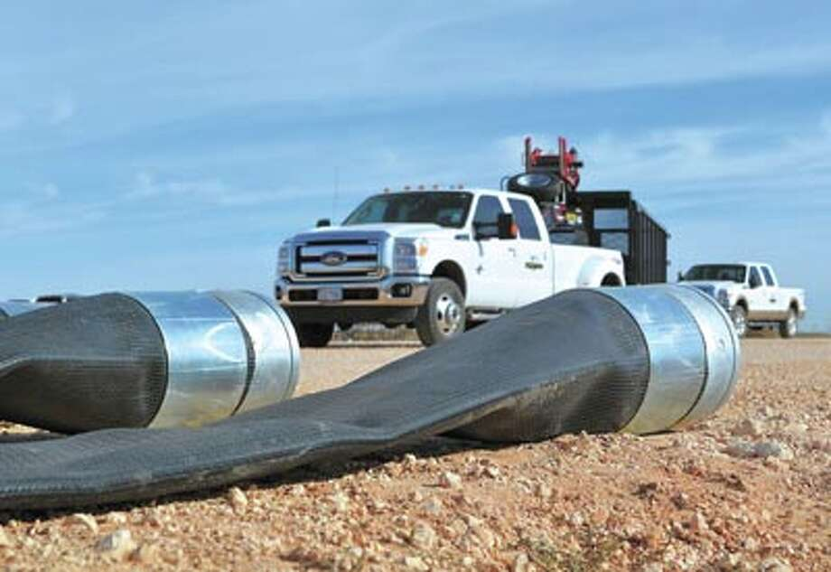Milford Fast Frac lay-flat hose can be deployed and retrieved quickly, is piggable and features leak-free joints. Call Milford Pipe and Supply at 888-563-POLY to learn how it can save you time and money.