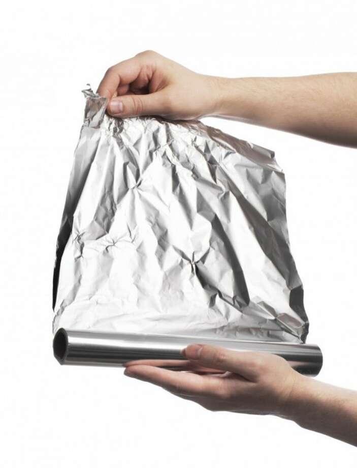 Aluminum foil Photo: Stocksnapper