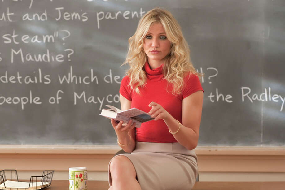 "In this film publicity image released by Columbia Pictures, Cameron Diaz is shown in a scene from ""Bad Teacher."" (AP Photo/Columbia Pictures - Sony, Gemma LaMana) Photo: Gemma LaMana / ©2011 Columbia TriStar Marketing Group, Inc.  All Rights Reserved. **ALL IMAGES ARE PROPERTY OF SONY PICTURES ENTERTAINMENT INC. FOR PROMOTIONAL USE ONLY.  SALE, DUPLICATION OR TRANSFER OF THIS MATERIAL IS STRICTLY PROHIBITED."