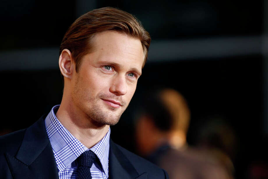 "Cast member Alexander Skarsgard arrives at the premiere for the fourth season of ""True Blood"" in Los Angeles, Tuesday, June 21, 2011. The new season of True Blood premieres June 26 on HBO. (AP Photo/Matt Sayles) Photo: Matt Sayles / AP"