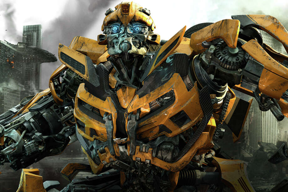 "In this publicity image released by Paramount Pictures, Bumblebee is shown in a scene from ""Transformers: Dark of the Moon."" Photo: Paramount Pictures / © 2011 Paramount Pictures Corporation.  All Rights Reserved.  Hasbro, TRANSFORMERS and all related characters are trademarks of"