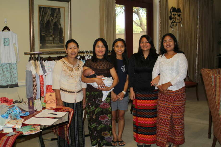 The Chin Collection is a new fair trade children's clothing line handmade by Burmese refugees in Midland.