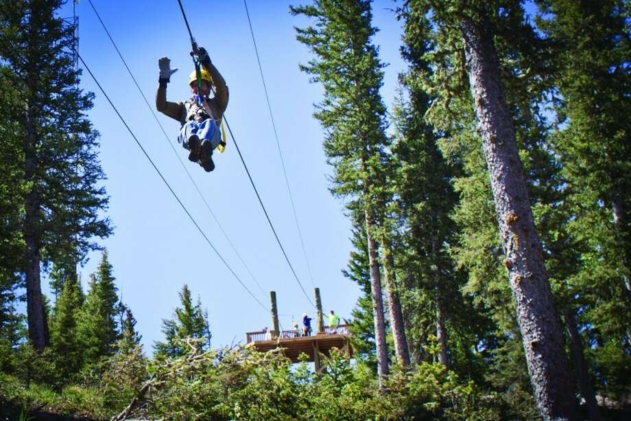 Angel Fire Resort offers zip lines, golf, mountain biking and more. Photo: Courtesy Of Angel Fire Resort