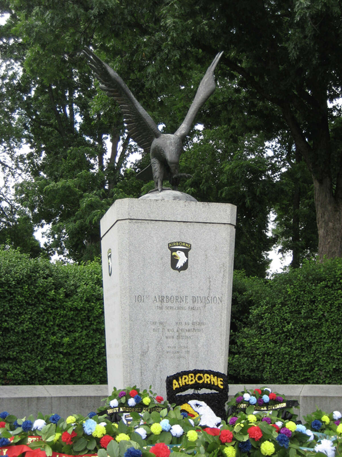 101st Army Airborne Division memorial at Arlington National Cemetery