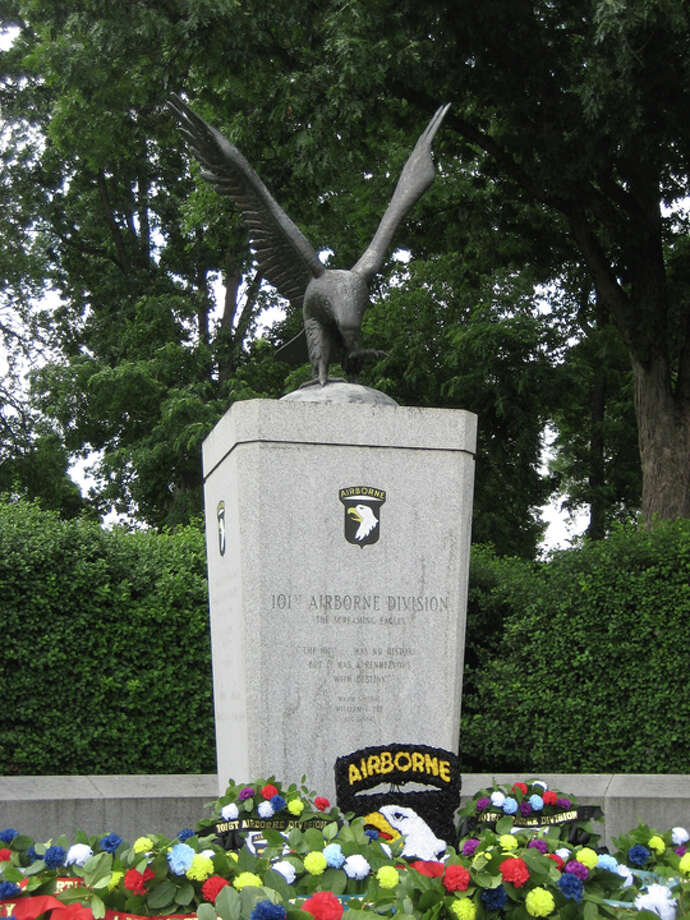 101st Army Airborne Division memorial at Arlington National Cemetery Photo: John Dargenio