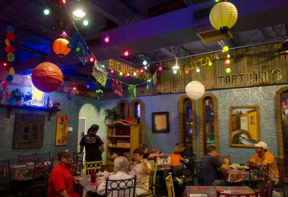 Gerardo's Casita recently updated the restaurant with energy efficient lighting and insulated roof, as well as programmable thermostat. Photo by Tim Fischer\ Reporter-Telegram Photo: Tim Fischer