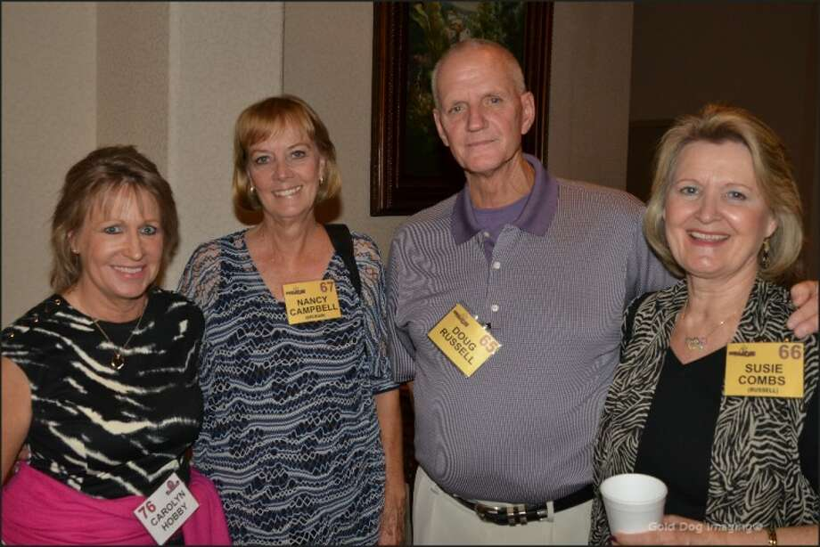 High schools1960s' reunion: Carolyn Hobby, from left, Nancy Campbell Brokaw and Doug and Susie Russell