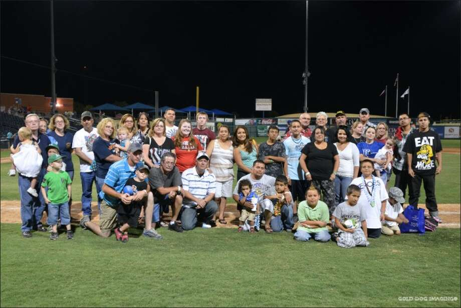 Local Gold Star families were recognized at a Midland RockHounds game on July 7. The families lost loved ones in the wars in Iraq and Afghanistan