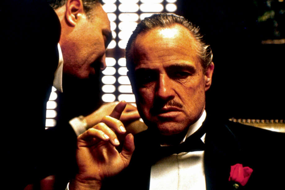"""Marlon Brando forever defined the archetypal Hollywood mobster with his starring role in """"The Godfather."""" Photo: Paramount Pictures"""