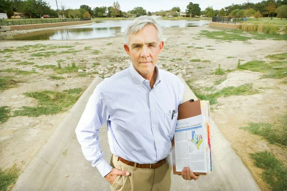 (File Photo) Mayor Wes Perry has been one of the chief leaders establishing a long term plan for a water supply to Midland. Cindeka Nealy/Reporter-Telegram Photo: Cindeka Nealy