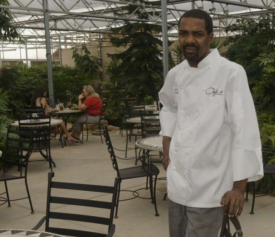 Chef James Price, chef at Cafe at the Gardens, was named Chef of the year by the Permian Basin chapter of the Texas Chef Association. Photo by Tim Fischer\ Reporter-Telegram Photo: Tim Fischer