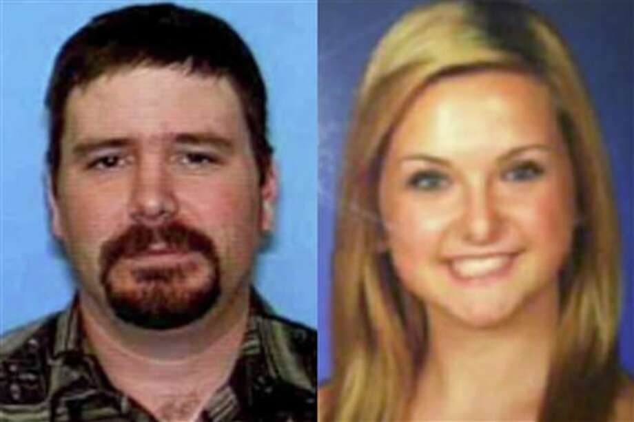 FILE - This combination of undated photos provided by the San Diego Sheriff's Department shows James Lee DiMaggio, 40, left, and Hannah Anderson, 16. Anderson went online barely 48 hours after her rescue Saturday Aug. 10, 2013 and started fielding hundreds of questions through a social media site. The 16-year-old California girl kidnapped by a close family friend suspected of murdering her mother and 8-year-old brother says he threatened to kill her if she tried to escape and got what he deserved when he died in a shootout with authorities in the Idaho wilderness. (AP Photo/San Diego Sheriff's Department ) Photo: Uncredited / San Diego Sheriff's Department