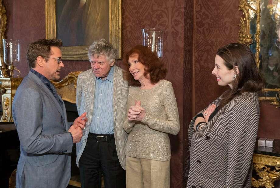 Robert Downey Jr., Gordon Getty, Ann Getty, Shannon Bavaro Photo: Drew Altizer Photography/SFWIRE