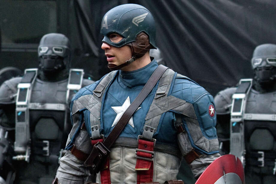 "In this film publicity image released by Paramount Pictures, Chris Evans is shown in a scene from the film ""Captain America: The First Avenger."" Paramount Pictures and Marvel Studios gave distributors around the world the option of shortening the title to""The First Avenger."" The only countries that took them up on it were Russia, Ukraine and South Korea. In other territories, the movie will go out with the full title, a sign that the brand value of the Marvel Comics hero trumps any potential anti-American sentiment in some parts of the world. Photo: Paramount Pictures / Captain America: The First Avenger, the Movie: ©  2010 MVL Film Finance LLC.  Marvel, Captain America, all character names and their distinctive likenesses: TM & ©2010 Marvel Entertainment, LLC and its subsidiaries. All Rights Reserved."