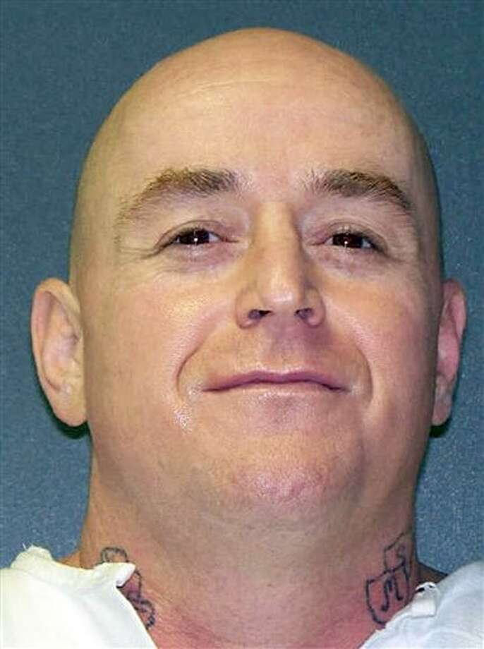 This undated handout photo provided by the Texas Department of Criminal Justice shows Mark Stroman. Stroman is scheduled to be executed Wednesday for one of two robbery-slayings. He also shot Rais Bhuiyan in the face in the incident claiming outrage by the events Sept. 11, 2001. (AP Photo/Texas Department of Criminal Justice) Photo: Anonymous / AP2011