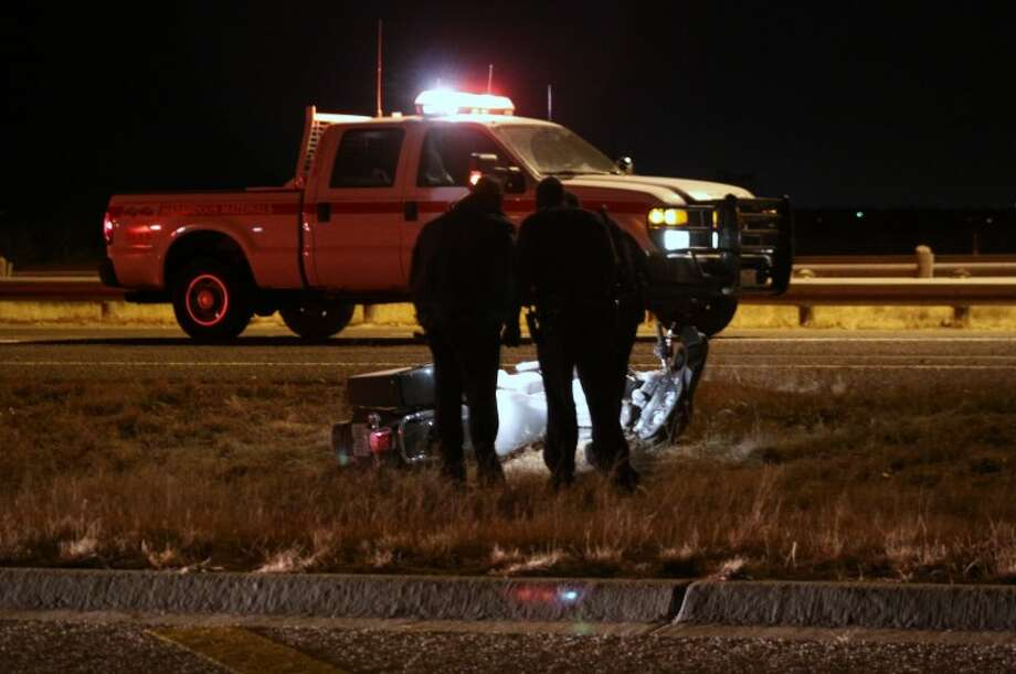 Heidi Evans, 22, of Odessa, died late Sunday, Dec. 26, 2010 when the motorcycle she was a passenger on left the roadway near the 1700 block of south Loop 250. The driver of the motorcycle, Jachary Hernandez, 29, of Midland, was transported by air to Lubbock in critical condition. MRT contributor Roger Primera