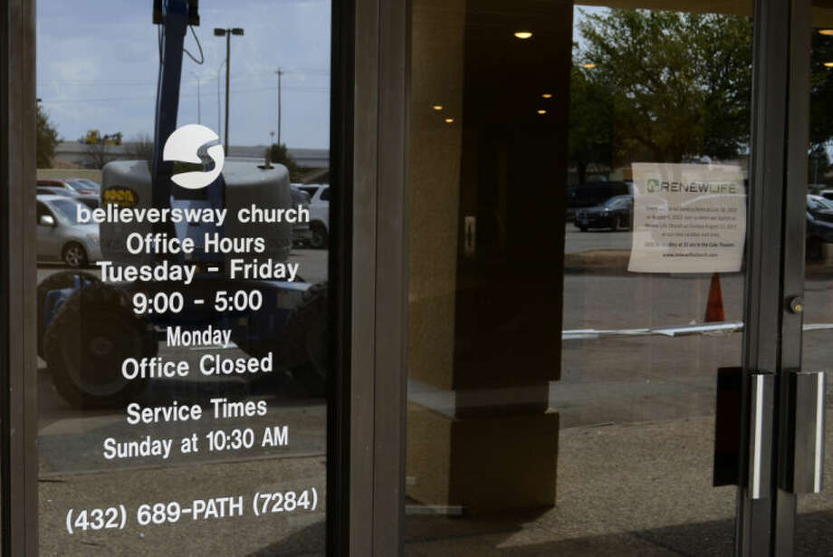 Believers Way Church is changing names to Renew Life Church and moving out of the strip mall off N. Midland Drive. Tim Fischer\Reporter-Telegram Photo: Tim Fischer