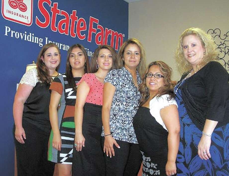 The friendly staff at Lara Sandlin State Farm, from left: Jessica Ford, Julie Macias, Tanessa Guzman, Rita Rodriguez, Irene Fernandez and Lara Sandlin are ready to help you with your mortgage. Call them at 687-1820.