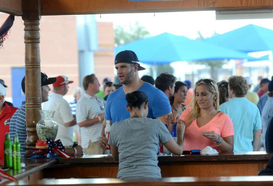 """Thirsty Thursday"" night at Citibank Ballpark for the RockHounds game against Corpus Christi. James Durbin/Reporter-Telegram Photo: JAMES DURBIN"