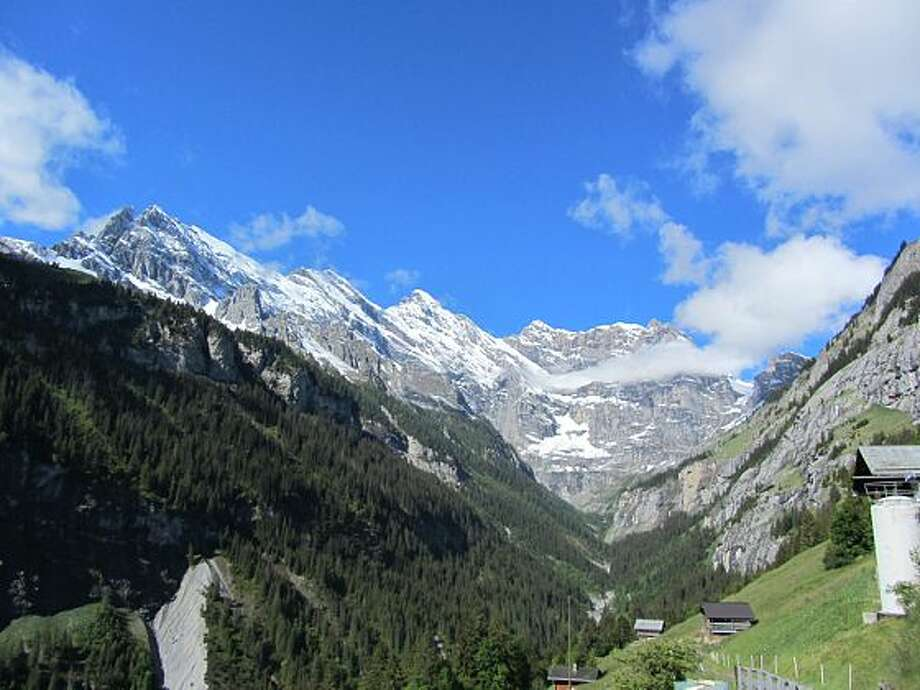 Gimmewald, Switzerland Photo: Luke Jones