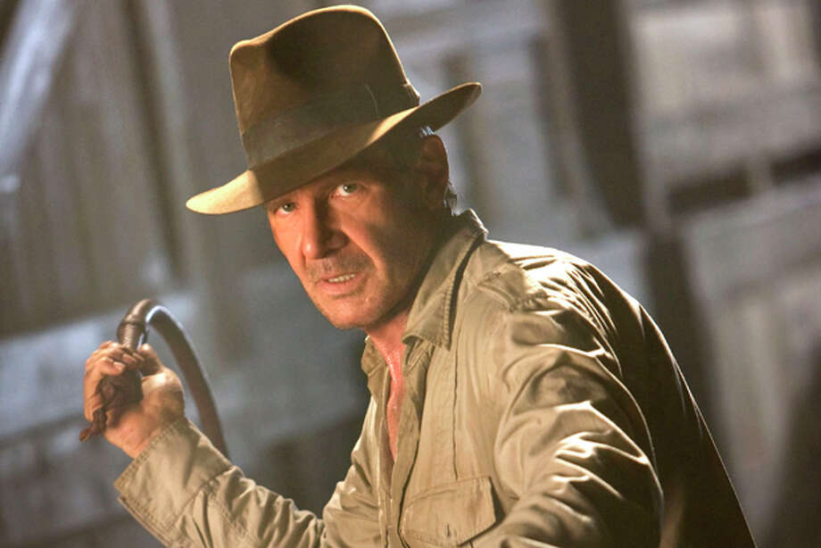 "FILE - In this file image originally released by Paramount Pictures, Harrison Ford is shown in a scene from the summer blockbuster film, ""Indiana Jones and the Kingdom of the Crystal Skull."" (AP Photo/Paramount Pictures, David James, file) Photo: David James / AP2007"