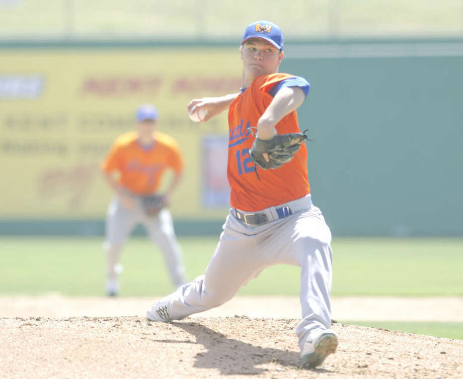 (File Photo)RockHounds pitcher Sonny Gray winds up and throws a pitch during a simulated game on Monday at Citibank Ballpark. Cindeka Nealy/Reporter-Telegram Photo: Cindeka Nealy