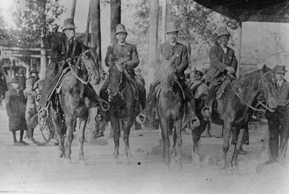 Beaumont police on horseback Photo: Enterprise File