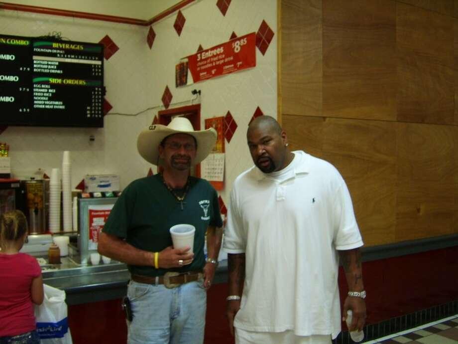 Carlton Proctor, left and Larry Allen.