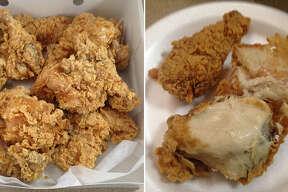Fried chicken from Bill Miller Bar-B-Q