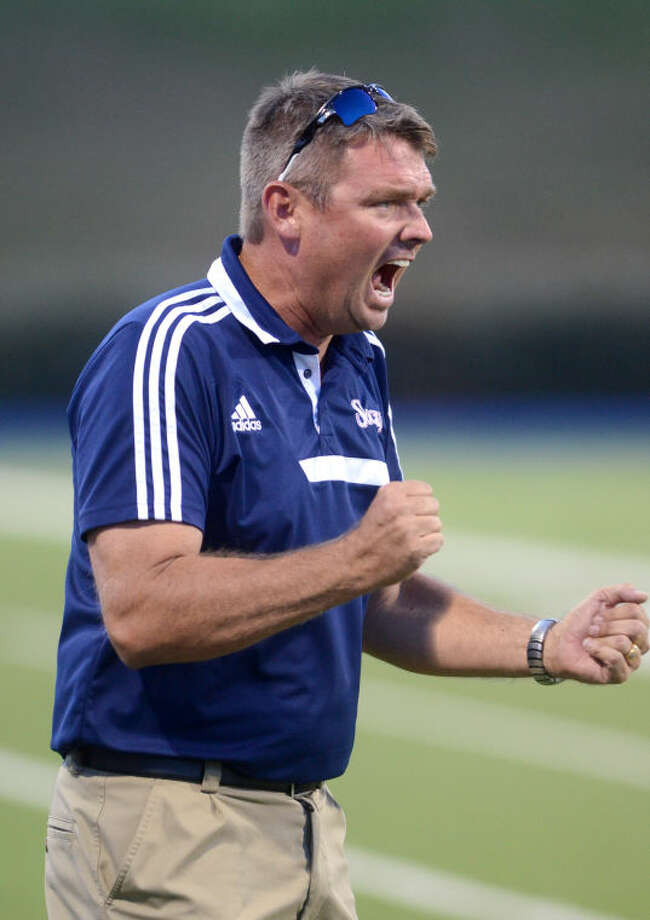 Sockers FC coach Warren Cottle reacts on the sidelines during a game against Laredo on Thursday at Grande Communications Stadium. James Durbin/Reporter-Telegram Photo: JAMES DURBIN