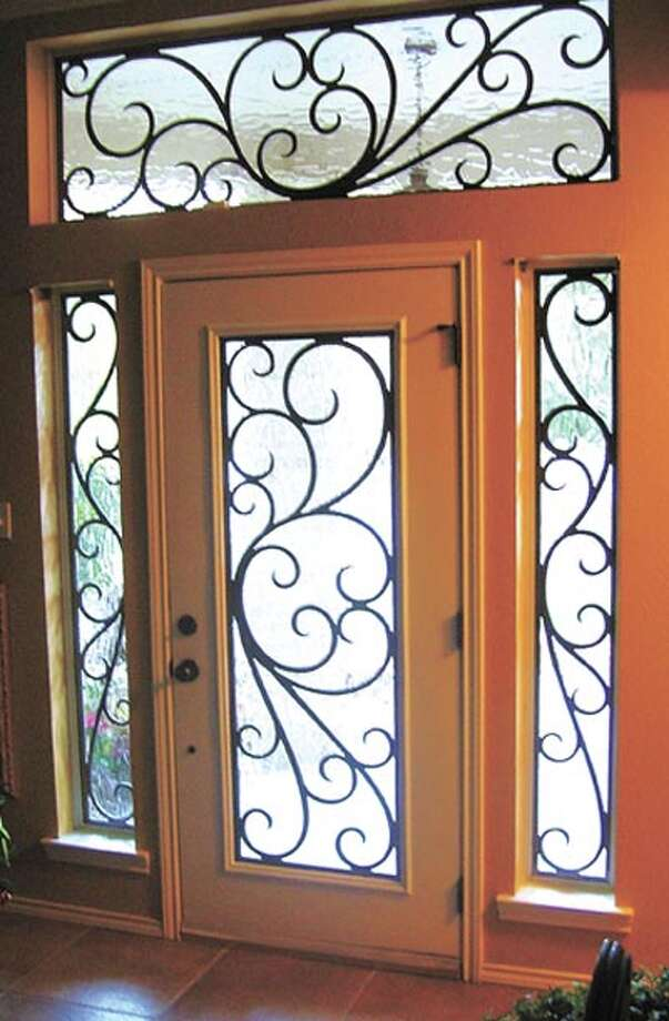 A stained glass overlay in your doorway is the quick and painless way to invigorate your home's décor—and to brighten up your entryway. Call SGO Designer Glass at 520-8788 to learn more.