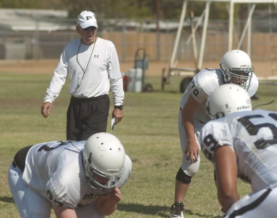 Gaines' final stint at Permian took some luster of his legend at the school, but he will go down as one of the best coaches in the district for a number of reasons. He won a state title at Permian in 1989, and he also had the task of following a legend in John Wilkins. Gaines missed the postseason in his first year in 1986, but then reeled off 39 wins in three years, including an undefeated state title run in 1989. His final squad at Permian in 2012 made the postseason but was eliminated by El Paso El Dorado as Gaines was 18-15 in his second stint. Overall Gaines was 64-22-1 while leading MOJO. Photo: Tim Fischer