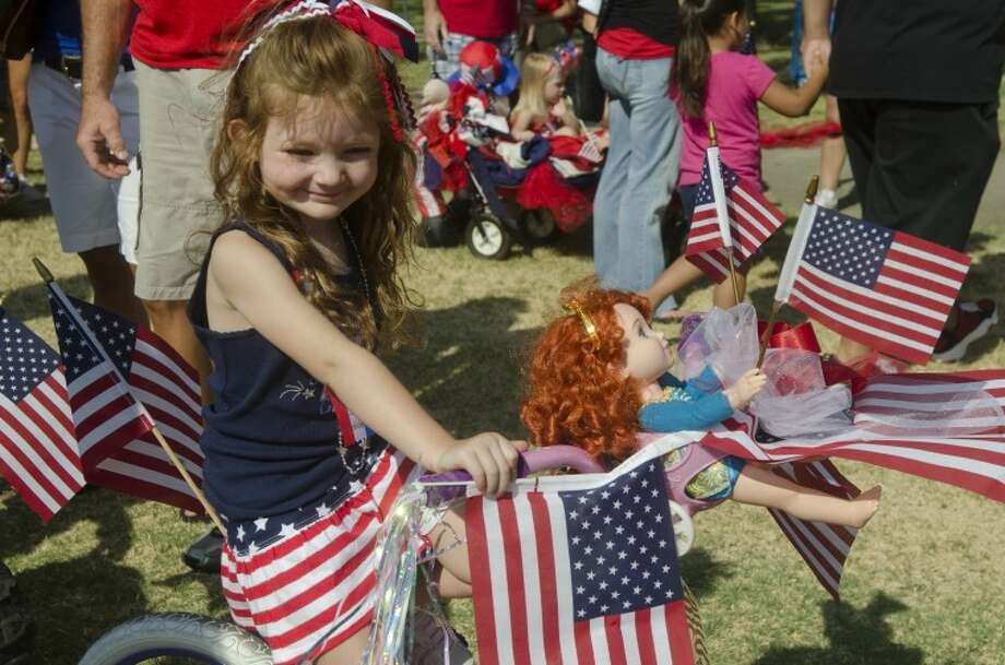 (2012 File Photo) Hundreds of children and their parents came dressed in red white and blue for the 50th annual Children's Parade Wednesday in celebration of July 4th. Photo by Tim Fischer\ Reporter-Telegram Photo: Tim Fischer