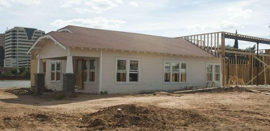 Work continues on the Basin Burger House on Colorado Street. Tim Fischer/Reporter-Telegram Photo: Tim Fischer