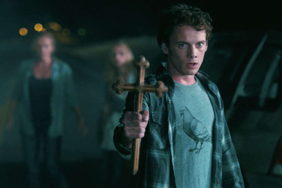 "In this film image released by Disney-DreamWorks Pictures, Anton Yelchin is shown in a scene from the horror film ""Fright Night."" (AP Photo/DreamWorks Pictures) Photo: HONS / ©DreamWorks II Distribution Co., LLC.  All Rights Reserved."