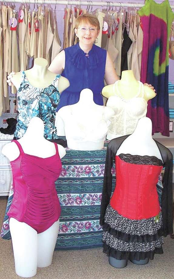 SALE! Pennyrich Shop owner Sharon Wilcox has select lingerie on sale at 50 percent off through August. She also has swimsuits, sun dresses and more at 311 Dodson Street in Old Town Midland.