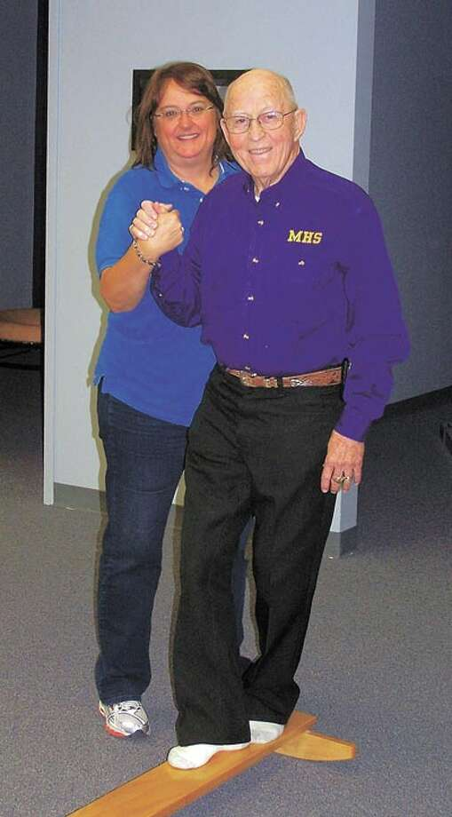 Longtime Midland trainer Doc Dodson says his gait has greatly improved since he has been going to In Balance. To learn how In Balance can help, call Missy Dwyer at 685-3556.