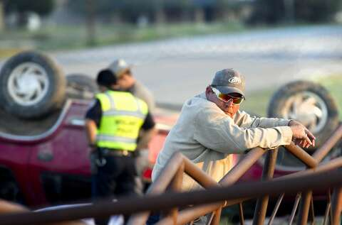 Man dies in one-car accident on Highway 349 - Midland