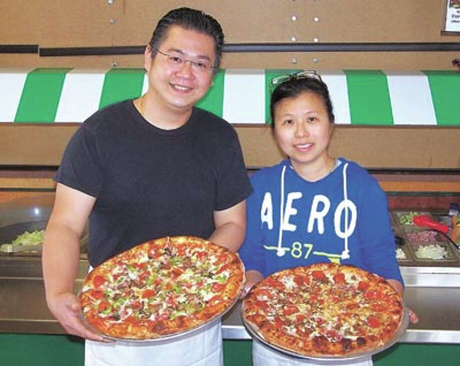 Husband and wife Matt and Diana invite you to try their hot and fresh homemade pizza every day of the week at MD Pizza, 4706 N. Midkiff, in front of Albertsons.