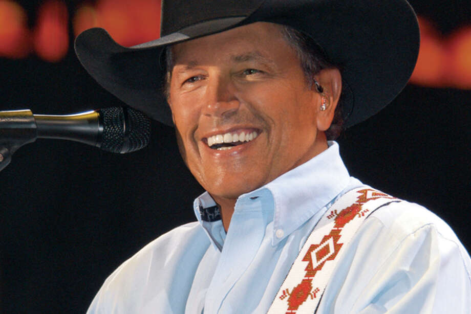"In this CD cover image released by MCA Nashville, the latest release by George Strait, ""Here for a Good Time,"" is shown. (AP Photo/MCA Nashville) Photo: HOEP / MCA Nashville"